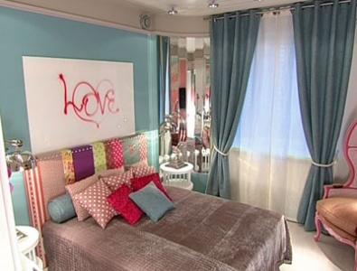 Спальня под британский флагом