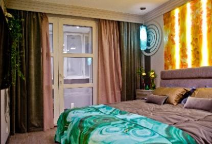 Спальня в янтаре