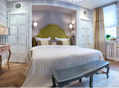 Спальня в палладианском стиле