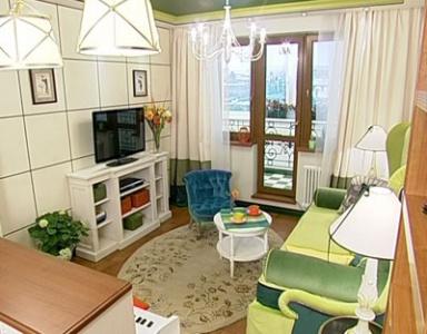 Зеленый кабинет с окном в Париж