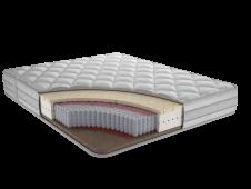 Матрас с независимым пружинным блоком Фортуна Ф3 80x180,190,195,200