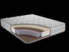 Матрас с независимым пружинным блоком Фортуна Плюс Ф3 80x180,190,195,200