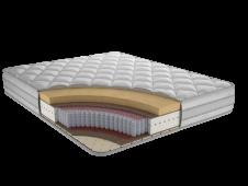 Матрас с независимым пружинным блоком Респект Ф3 80x180,190,195,200