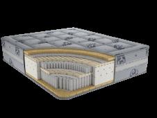 Матрас с независимым пружинным блоком Магнум Ф2 80x190,195,200