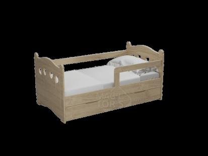 Детские кроватки из массива дерева Мишка