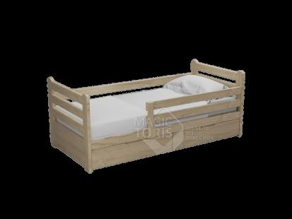 Детские кроватки из массива дерева Александра малая