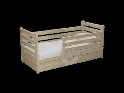 Детские кроватки из массива дерева Александра большая