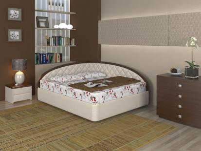 Кровати серии Атриа Атриа Тинто правое
