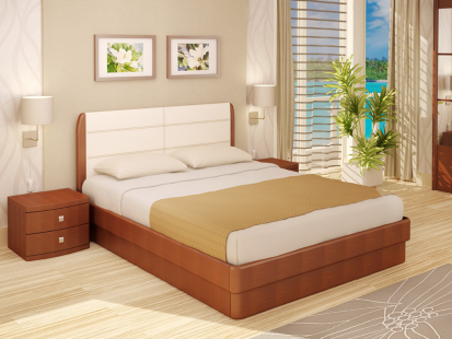 Кровати с подъемным механизмом «Юма» Гела Милето