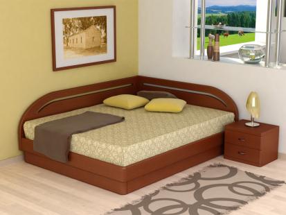 Кровати с подъемным механизмом «Юма» Юма Румо левое