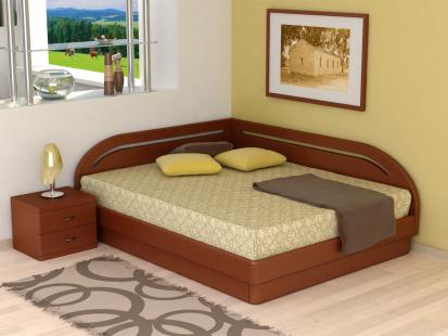 Кровати с подъемным механизмом «Юма» Юма Румо правое