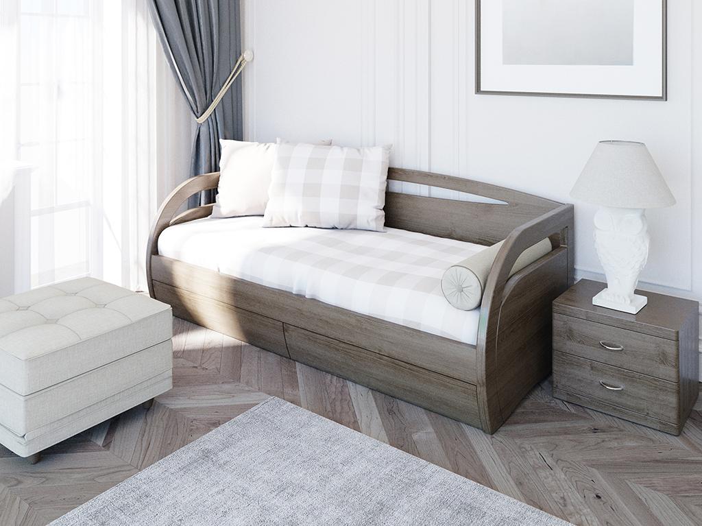 Кровать Ника Донго с ящиками