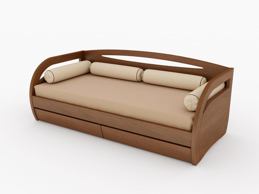 Вариант расположения на кровати Вега