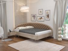 Кровать АСТА Тинто правое 90x180,190,200